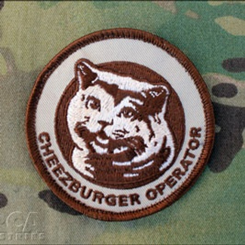 Cheezburger Operator Patch - Morale Patch
