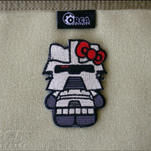 Hello Kitty Cylon Patch - Morale Patch