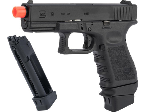 Spartan Licensed GLOCK Blowback Training Pistol - LE / Military ONLY (Model: G19 Gen.3)
