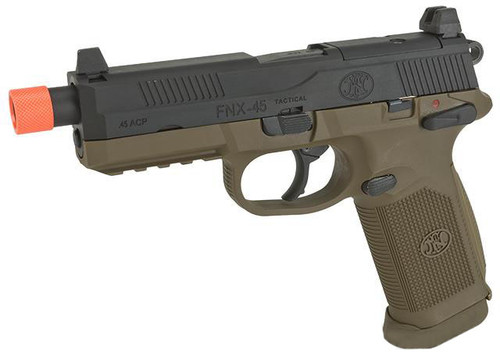 Cybergun FN Herstal Licensed FNX-45 Tactical Airsoft Gas Blowback Pistol by VFC