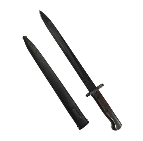 Belgian M1924 Long Bayonet w/ Scabbard
