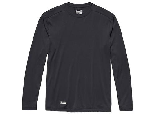 Under Armour Men's Tactical UA Tech Long Sleeve T-Shirt (Color: Black)