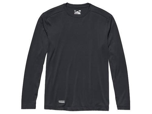 Under Armour Men's Tactical UA Tech Long Sleeve T-Shirt (Color: Dark Navy Blue)
