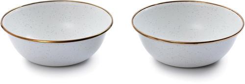 Enamel Mixing Bowl Set of 2