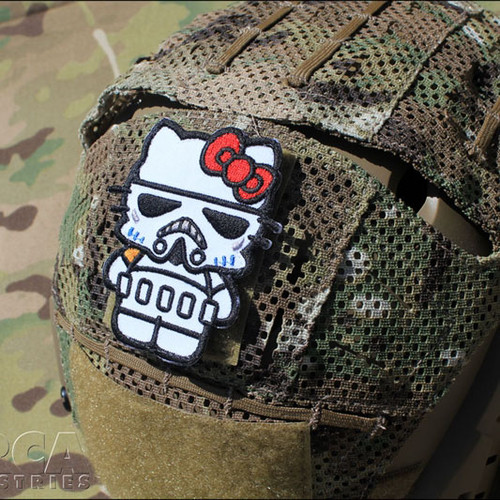 Hello Kitty Storm Trooper - Morale Patch