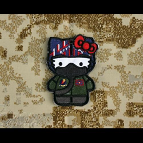 Hello Kitty Top Gun - Morale Patch