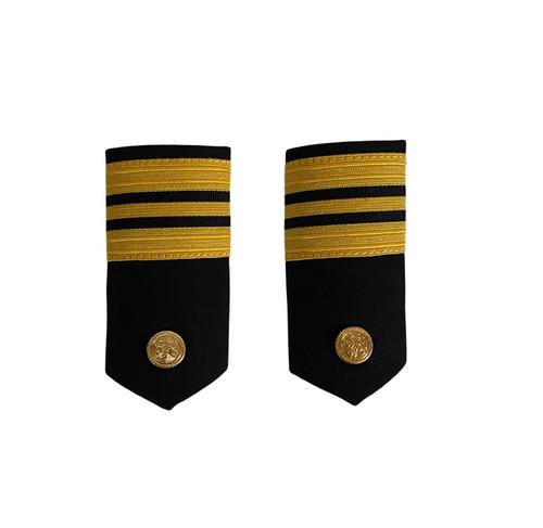 Vintage Canadian Naval Lieutenant-Commander Epaulette w/ Boarders
