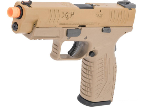 Springfield Armory Licensed XDM Gas Blowback Airsoft Training Pistol (Model: 4.5 Duty / FDE)