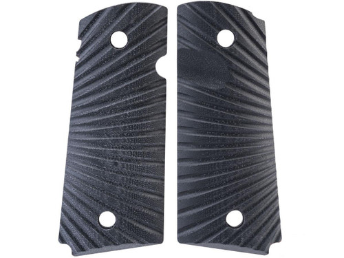 Angel Custom CNC G10 Pistol Grip Set for V10 Gas Blowback Pistols (Model: Eagle Wing Texture)