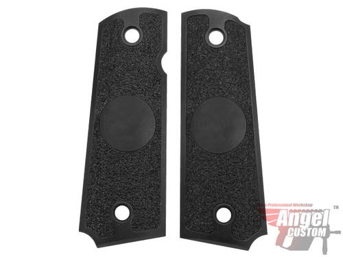 Angel Custom CNC Machined Tac-Glove Grips for WE-Tech 1911 Series Airsoft Pistols