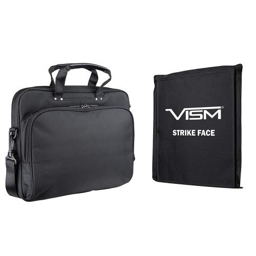 VISM CCW Laptop Briefcase with Ballistic Panel - Black
