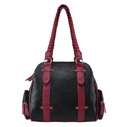 VISM Braided Shoulder Bag