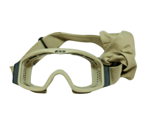 Tan ESS Goggles w/ Adjustable Strap