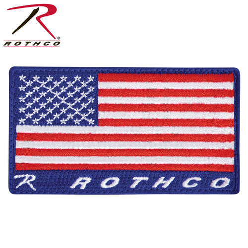 Rothco Brand US Flag Patch - Full Colour