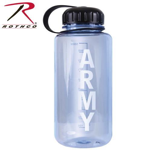 Rothco Military Logo BPA Free Water Bottle - 32 Ounces