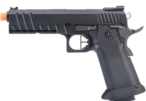 """AW Custom """"Competitor"""" Hi-CAPA Gas Blowback Airsoft Pistol (Package: Black Ace / Green Gas)"""