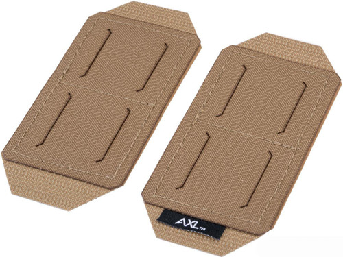AXL Advanced Pouch Anywhere Upgrade Panel Set for MOLLE Tactical Pouches (Model: 2 Wide)