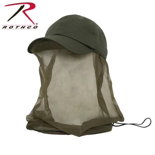 Operator Cap w/Mosquito Net