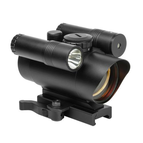 VISM Red Dot w/Green Laser & FlashLight