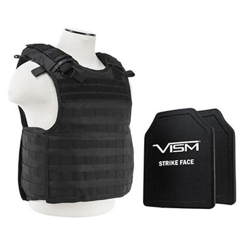 VISM QR Carrier w/10X12 PE Hard Plates [Med-2XL]