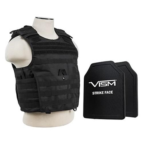 VISM Expert Carrier w/10X12 PE Hard Plates [Med-2XL]