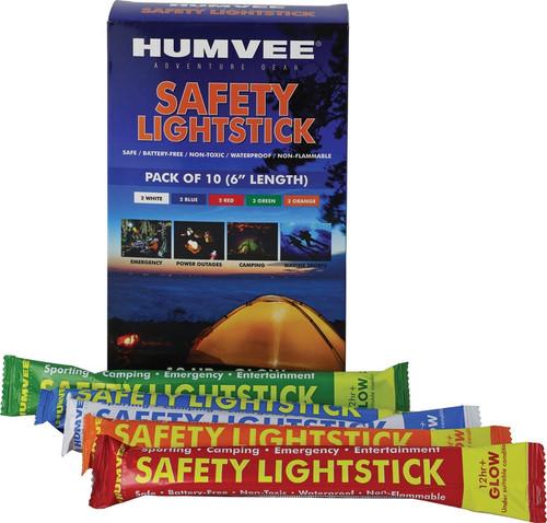 "6"" Safety Glow Stick 10 Pk"