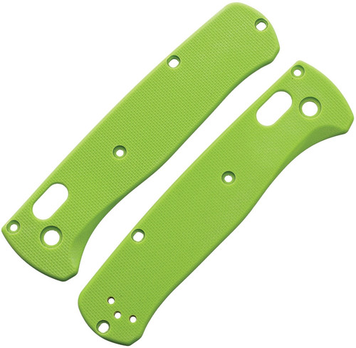 Bugout Handle Scales Lime G10
