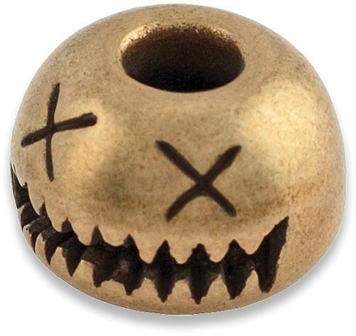 Smiley Bead Bronze