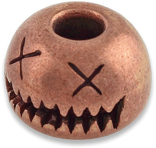 Smiley Bead Copper