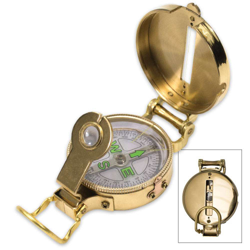 Trailblazer Heritage Lensatic Compass