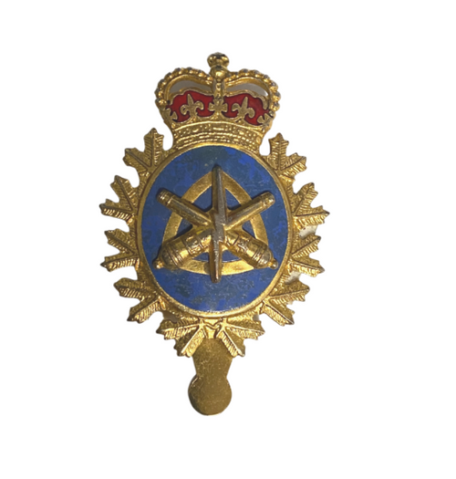 Canadian Armed Forces LORE Land Ordnance Cap Badge