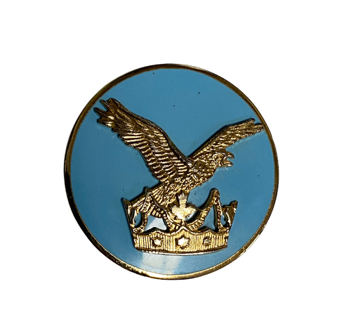 Canadian Forces Air Command Breast Badge Enameled Pin