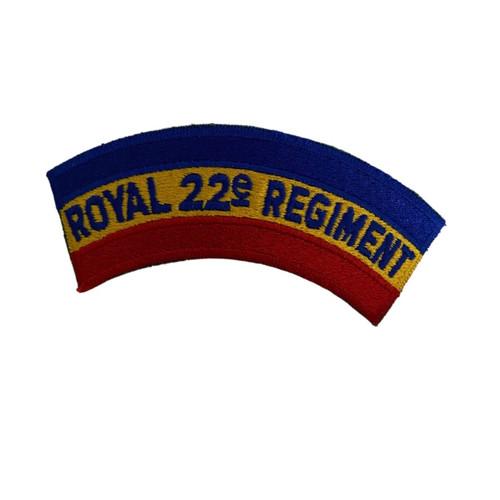 Royal 22e Regiment Patch