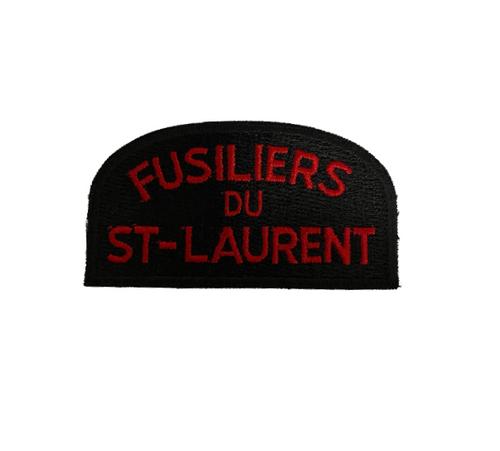 Fusiliers Du St. Laurent Shoulder Flash/Badge