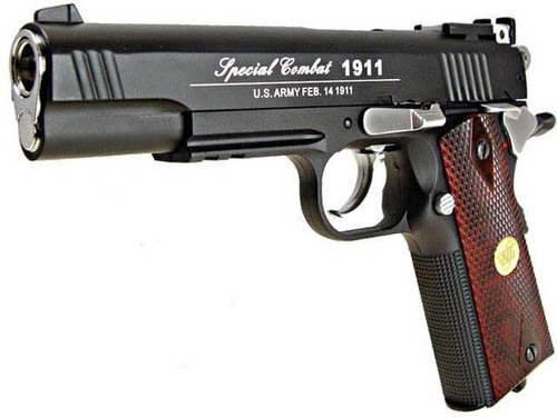 WG Co2 Powered Special Combat 1911 Airsoft Gas Gun