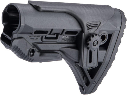 FAB Defense GL-SHOCK CP Shock-Absorbing Buttstock w/ Adjustable Cheek Rest
