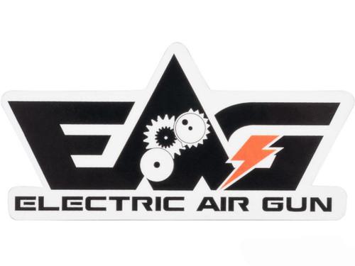 Electric Air Gun Logo Sticker