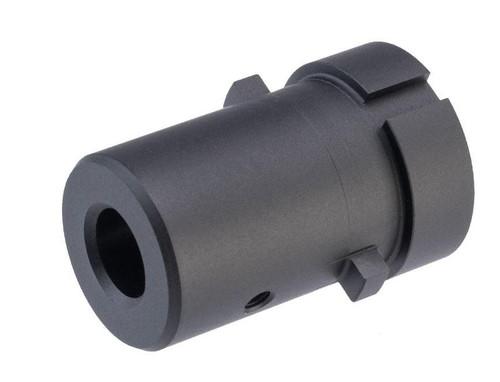 Guns Modify Lightweight Outer Barrel Adapter for M4/M16 Gas Blowback Airsoft Rifle Barrels