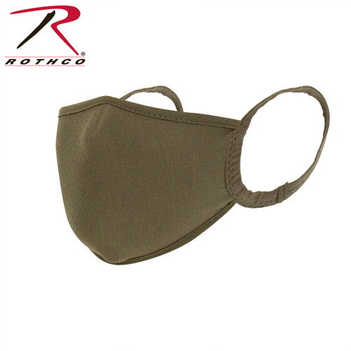 Rothco Reusable 3-Layer Face Mask - Coyote Brown