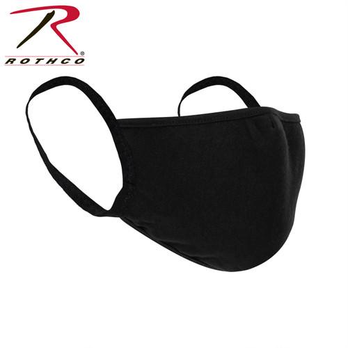 Rothco Reusable 3-Layer Face Mask - Black