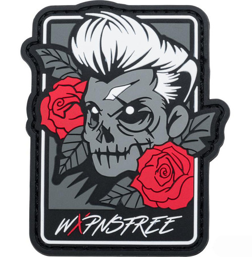 """Weaponsfree.US """"Tacti-Skull"""" Tactical PVC Morale Patch"""