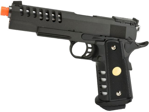 "WE Full Metal Hyper Speed ""Skeletor"" Hi-CAPA Airsoft Gas Blowback"