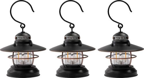 Edison Mini Lantern Bronze 3pk