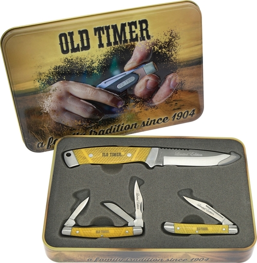 Old Timer Gift Set Yellow SCHP1105609