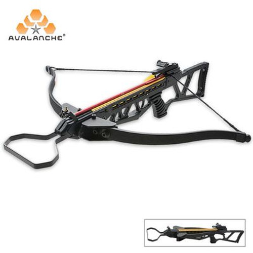 Avalanache Folding Take Down Survival Crossbow 150 lb.