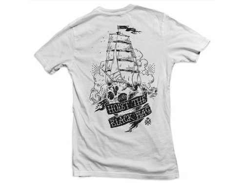"Black Rifle Division ""Black Flag"" Shirt (Color: White)"