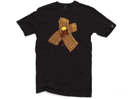 "Black Rifle Division ""Waffle Mag"" Graphic T-Shirt (Color: Black)"