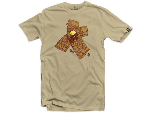 """Black Rifle Division """"Waffle Mag"""" Graphic T-Shirt (Color: Sand)"""