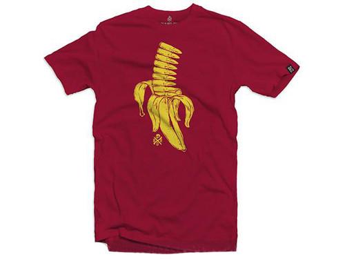 Black Rifle Division Banana Clip T-Shirt - Cardinal