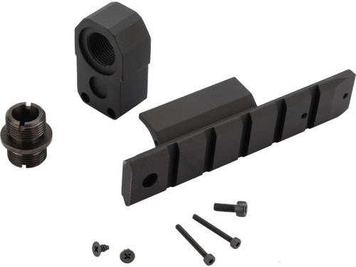Laylax Nine Ball Aluminum Custom S.A.S. NEO Front Kit for Tokyo Marui Hi-CAPA 5.1 Series GBB Pistols